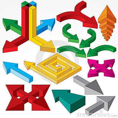 Isometric Arrows