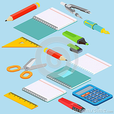 Free Isometric Illustration On A Blue Background With The Image Ruler Stock Photos - 70926743