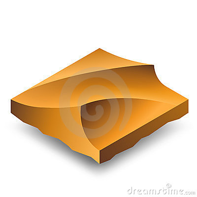 Free Isometric Sand Dunes Stock Photos - 19803333