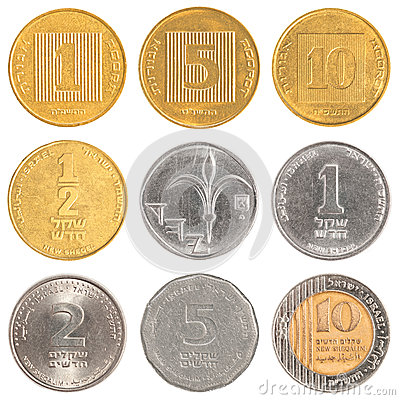 Israel circulating coins
