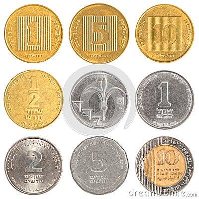 Israel circulating coins
