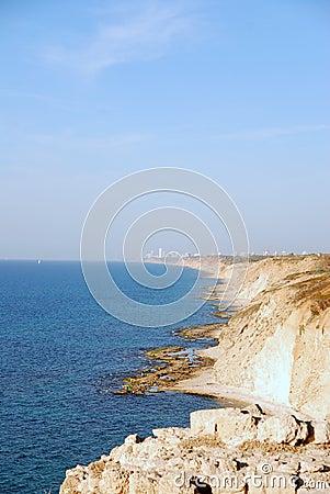 Israel coastline