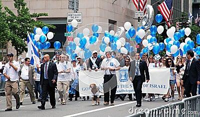 Israel day parade 2011 Editorial Photo