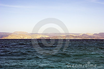 Israel - Egypt border in the Aqaba gulf