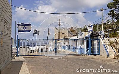 Israel-Lebanon Border Editorial Photography
