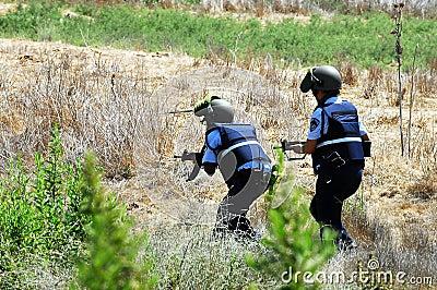 Israel Police Editorial Image