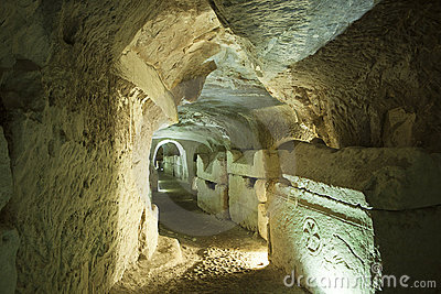 Israel sarcophagi kamień