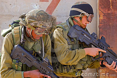Israel Soldiers Editorial Image