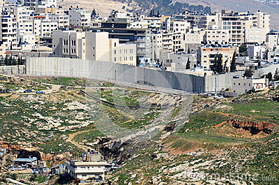 Israel West Bank Barrier