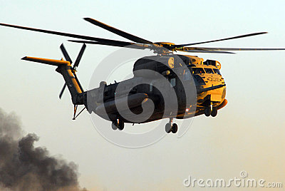Israeli Air Force CH-53 Sea Stallion Helicopter Editorial Photo