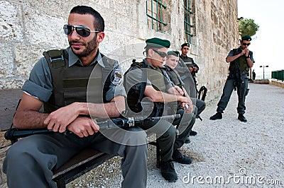 Israeli Occupation in Palestine Editorial Stock Image
