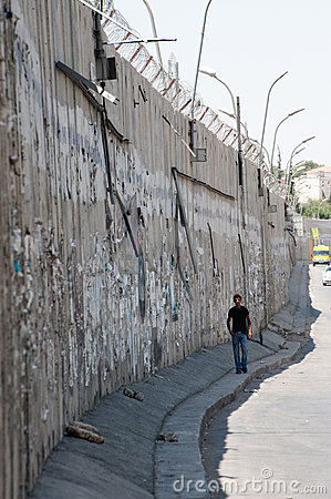 Israeli Separation Wall Editorial Photography