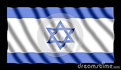 Israelische Markierungsfahne