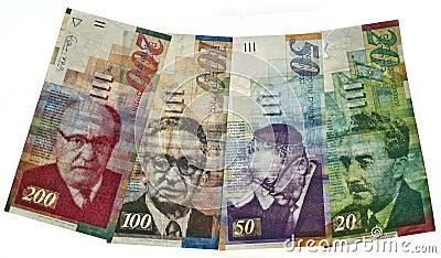 Israelisches Bargeld