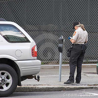 Issuing a Parking Ticket_7916-1S