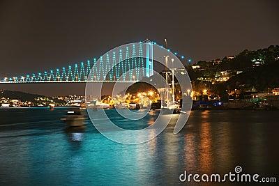 Istambul Bosphorus Bridge