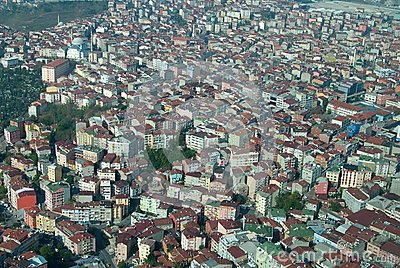 Istanbul from air