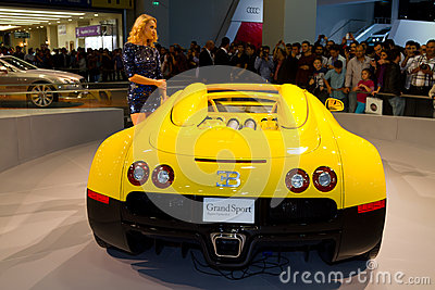 Istanbul Auto Show 2012 Editorial Stock Image