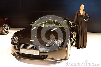 Istanbul Auto Show 2012 Editorial Image