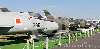 Istanbul Aviation Museum Editorial Stock Image