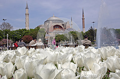 Istanbul Aya-Sofia Editorial Image