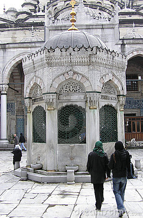 Istanbul - Blue Mosque entrance