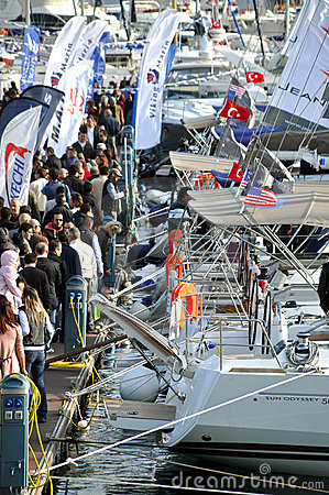 Istanbul Boat Show Editorial Image