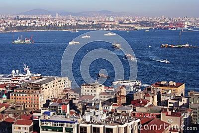 Istanbul and Bosporus