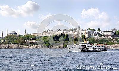 Istanbul from Bosporus
