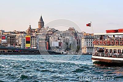 Istanbul, Galata Editorial Stock Image