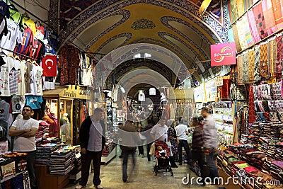 Istanbul Grand Bazaar, Turkey Editorial Photography