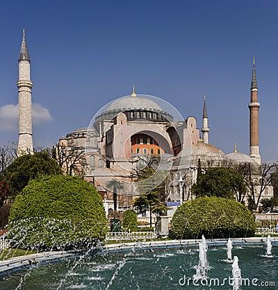 Istanbul - Hagia Sophia Mosque