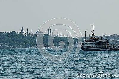 Istanbul harbor