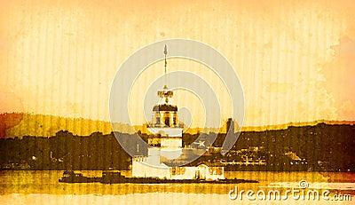 istanbul kiz tower
