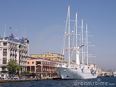 Istanbul Port, Bosporus-Turkey