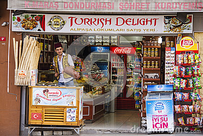 Istanbul shop Editorial Stock Photo
