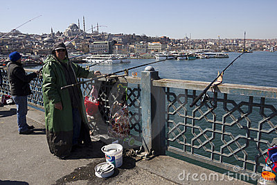 Istanbul - street scenes Editorial Stock Image