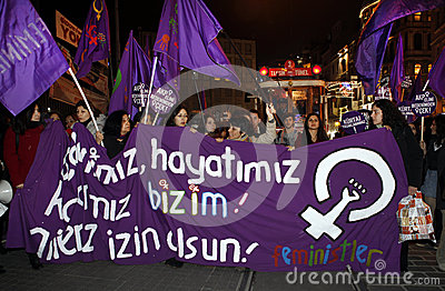 International women s day Editorial Image