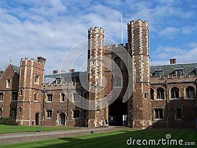 Istituto universitario della st John a Cambridge
