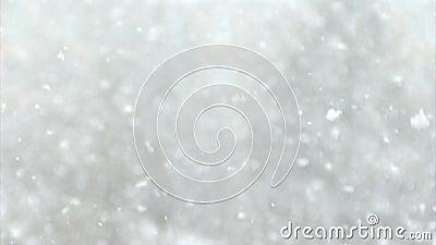 Istny śnieg zbiory wideo