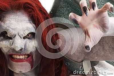 Istoty kobieta lubi wampira