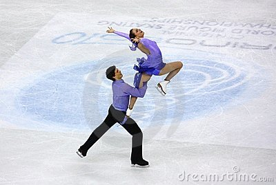 ISU World Figure Skating Championships 2010 Editorial Stock Image
