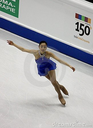 ISU World Figure Skating Championships 2010 Editorial Stock Photo