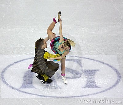 ISU World Figure Skating Championships 2010 Editorial Photo