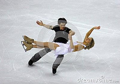 ISU World Figure Skating Championships 2010 Editorial Stock Image
