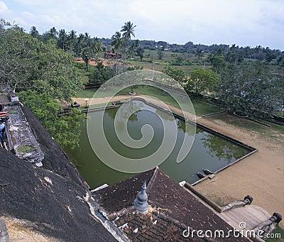 Isurumuniya Vihara Temple Sri Lanka