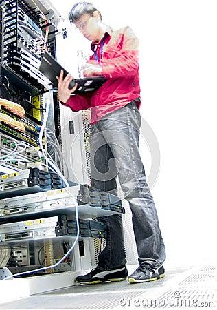Free IT Engineer Royalty Free Stock Photo - 955035