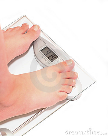 Free It S Time To Lose Weight Royalty Free Stock Image - 12488516