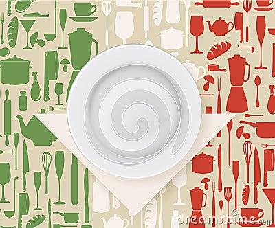 Italiaans van de restaurantmenu en affiche ontwerp stock afbeeldingen afbeelding 36122694 - Douche italiaans ontwerp ...