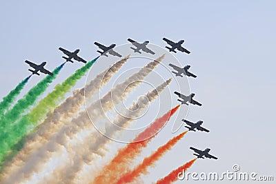 Italian aerobatics group